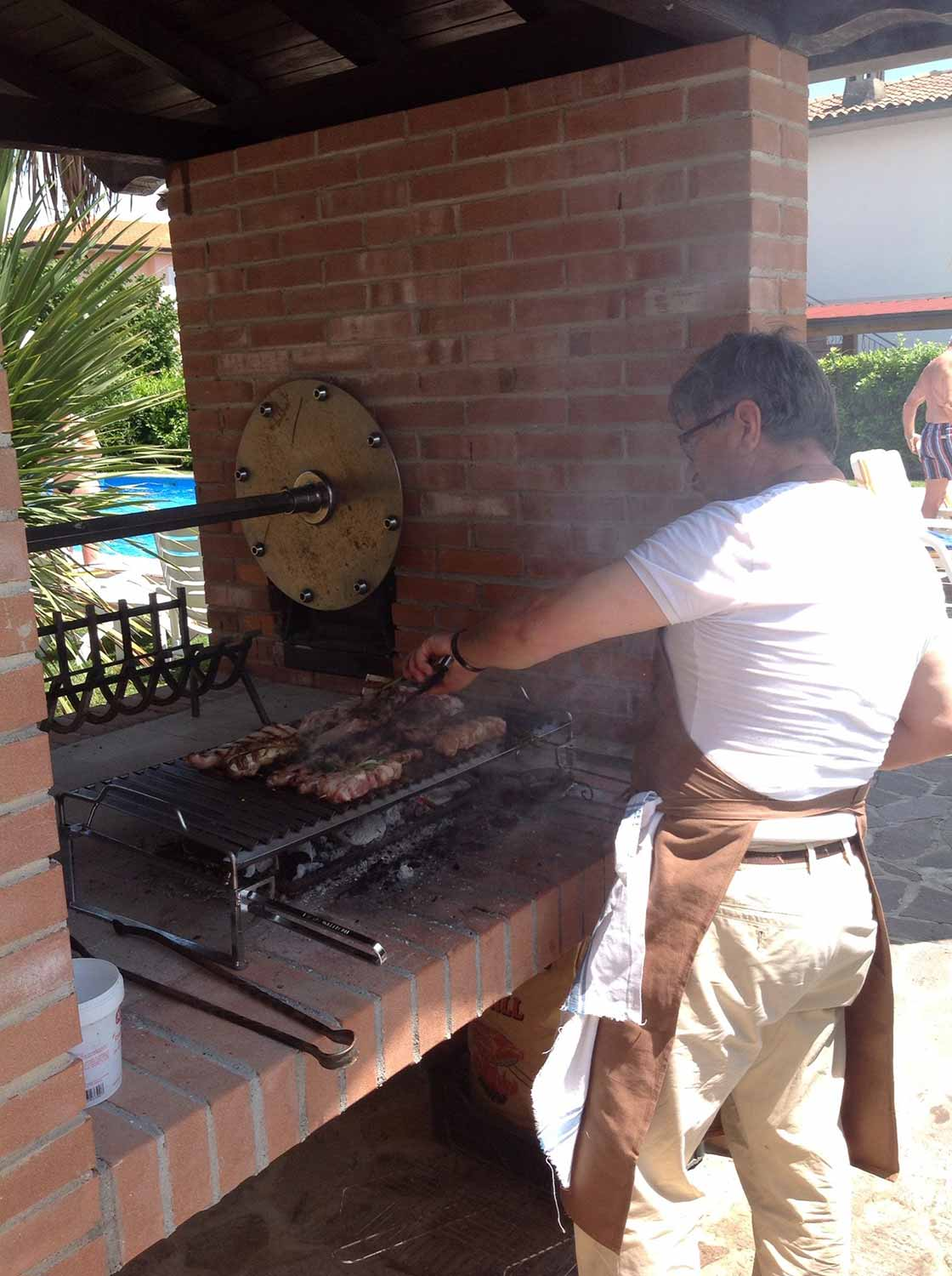 Barbecuein Piscina La Quiete Manerba del Garda
